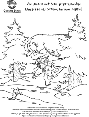 Kleurplaten Geronimo Stilton Fantasia.Downloads Geronimoboeken Jouwweb Nl